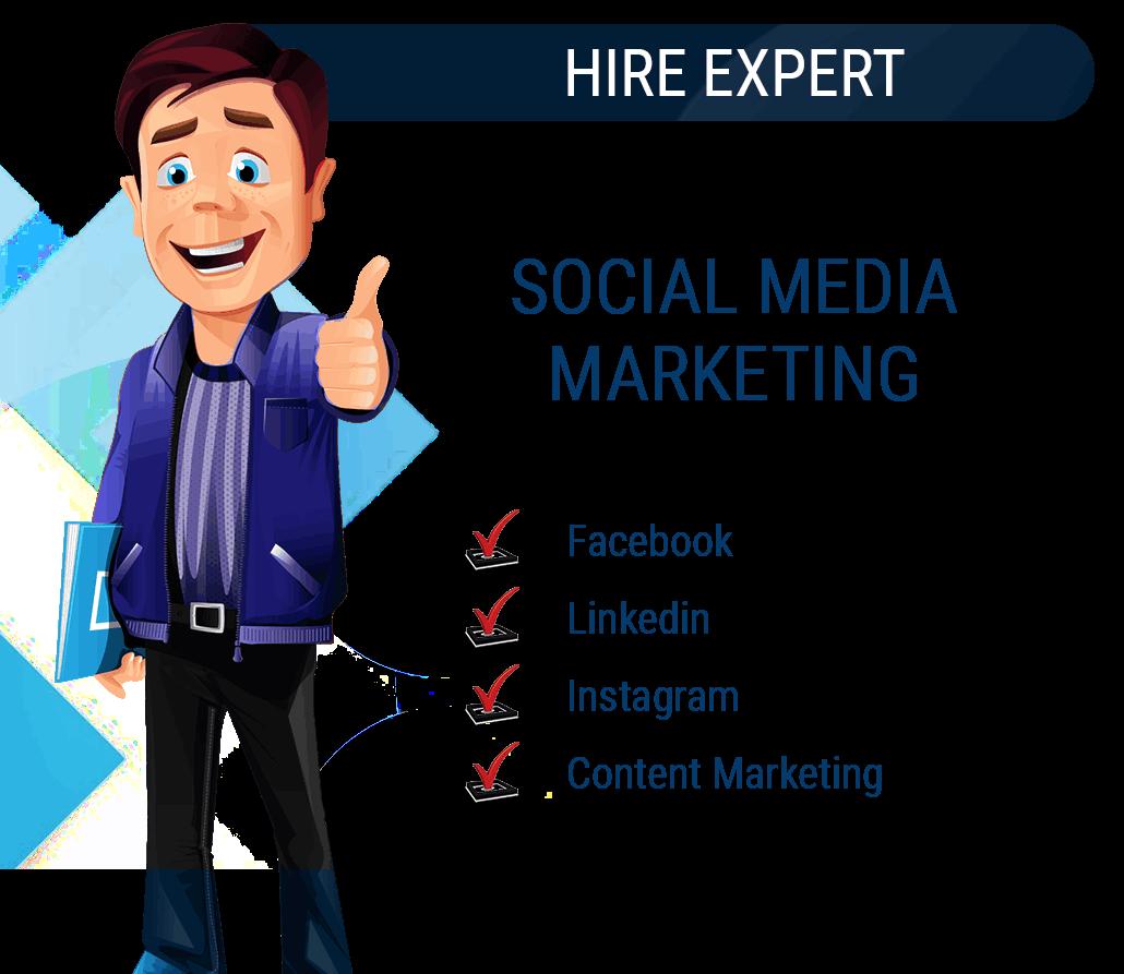 Hire Social Media Marketing Expert